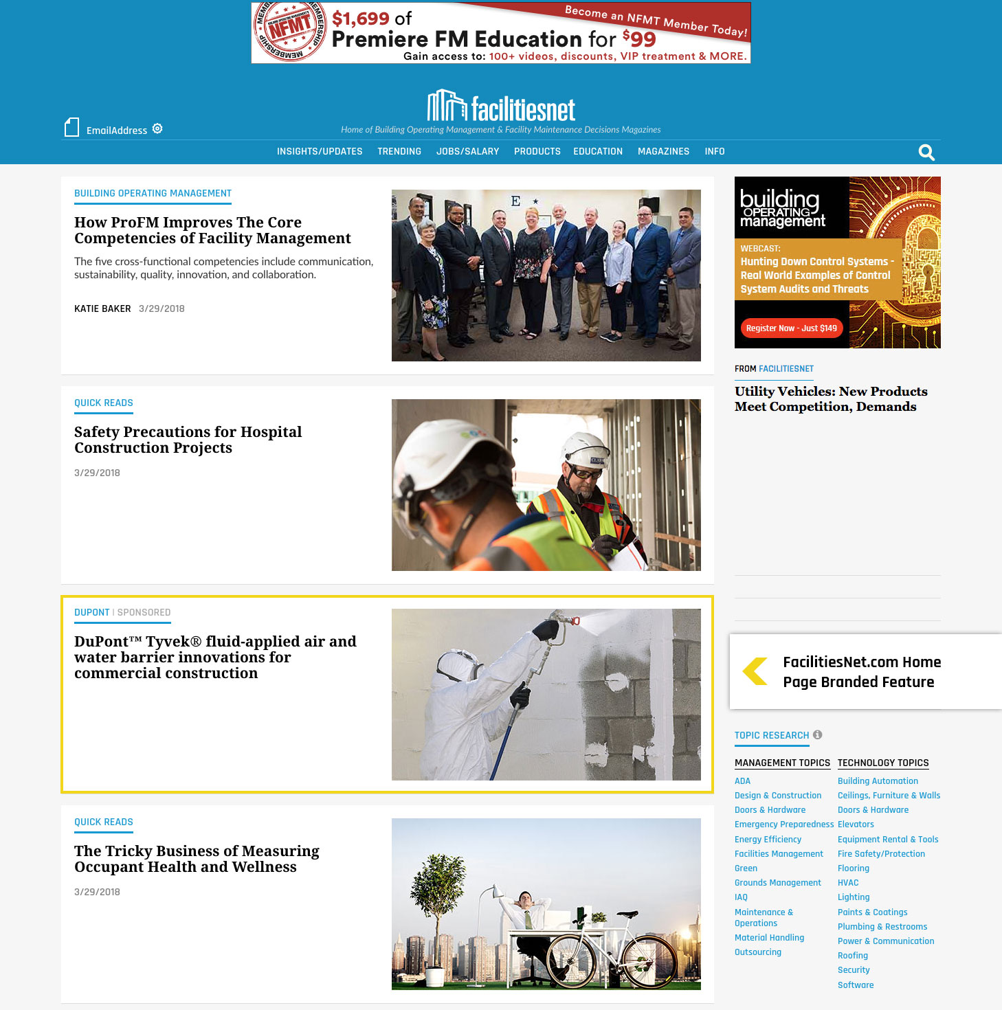 Advertise to building owners facility executives website ads to view a sample click here fandeluxe Images
